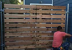 Wood Fence Installation and Repair