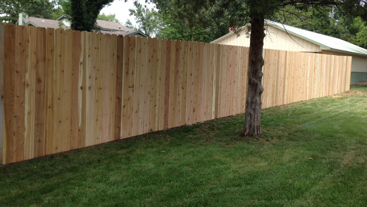 What does the cost for fence installation services include?